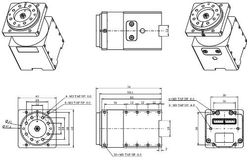 Dynamixel Pro L42-10-S300-R Smart Servo