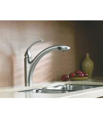 Kohler Forte Kitchen Faucet with Pullout Sprayer