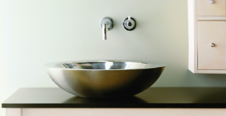 colored kitchen sinks hutch ideas stainless steel bathroom | care & cleaning ...
