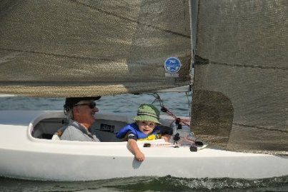 The entire boat can be made ready for sailing in less than 30 minutes by one person. No more hassles of finding a crew for racing - you are it! Unless you wish to take your grandchild for a ride!
