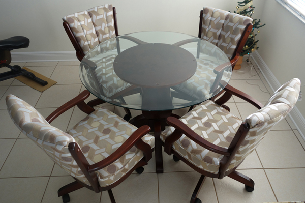 Glass Dinette Sets Metal Round Glass Table Tops