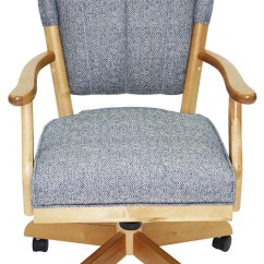 Chromcraft Furniture Kitchen Chair With Wheels Moen Faucet Warranty Chairs Casters – Wow Blog