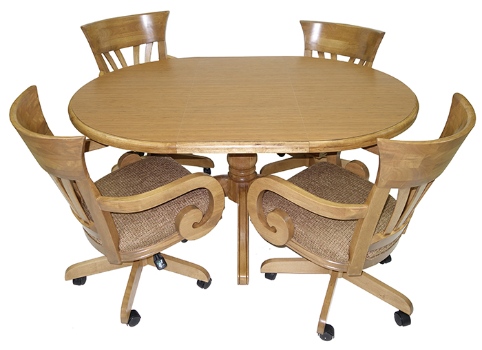 kitchen dinettes drainer basket dining room furniture tables matching chair sets wavecaster 42x42x60italian jpg