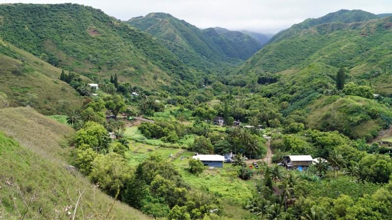 Hinterland von Hawaii