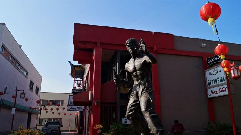 Bruce Lee - Chinatown Los Angeles