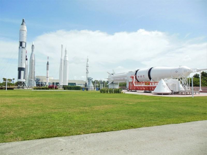 NASA Ausstellung an Ostküste von Florida