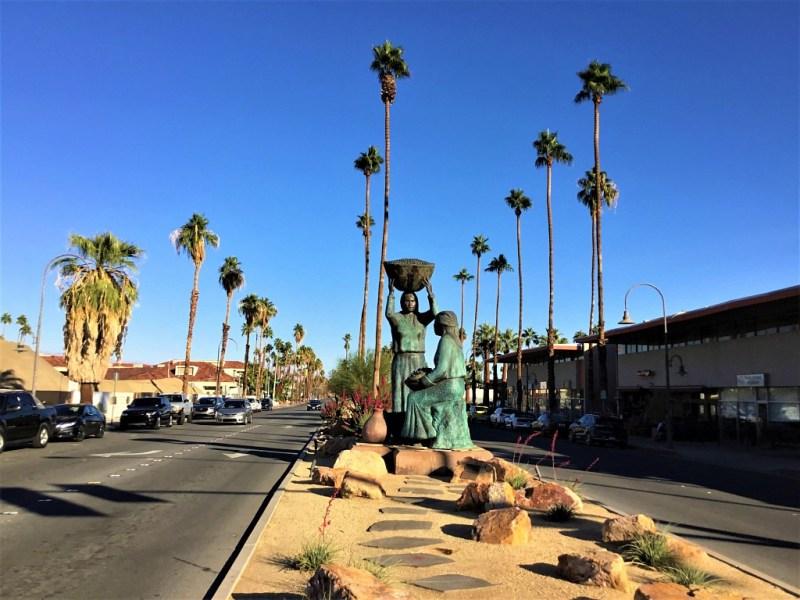 Palmen in Kalifornien