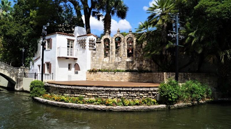 Der Riverwalk von San Antonio