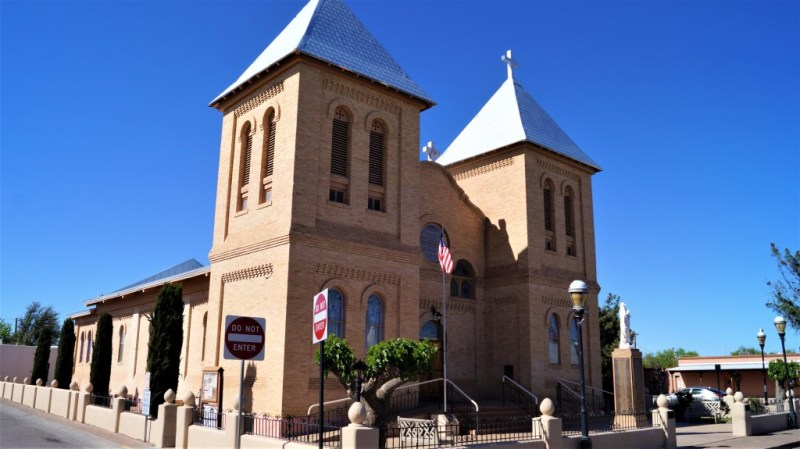 San Albino Basilica in Mesilla