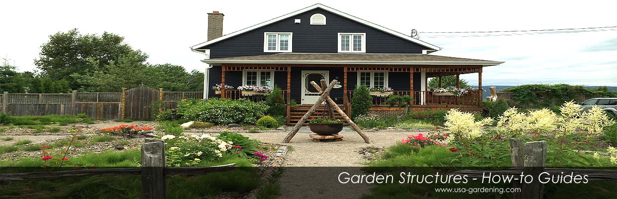 Garden Structures Projects Ideas DIY Outdoor Structures