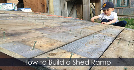 build shed ramp ledger