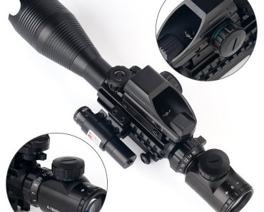 Low Budget Tactical Rifle Laser Optics - $95.99 2