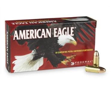 American Eagle 9mm ammunition