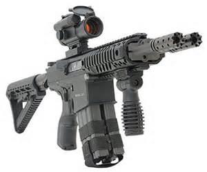 Twin barrel AR-15