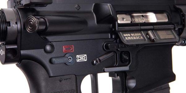 Match-grade flat trigger on POF Renegade+