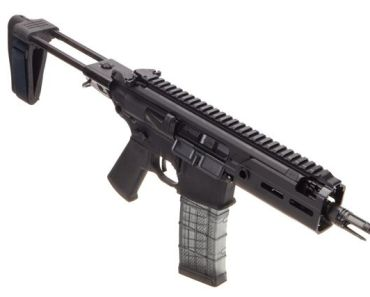 Sig Sauer Rattler MCX PSB 300 Blackout, designed for concealed carry with stable twin-prong rear brace for sale, SBR