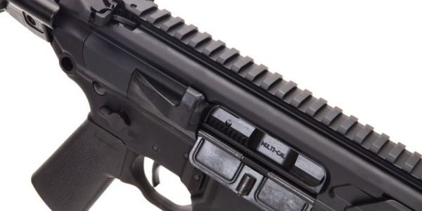Sig Sauer Rattler MCX PSB 300 Blackout with adjustable gas block and full size charging handle