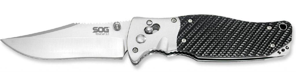 SOG Tomcat 3.0, the best designer tactical knife?
