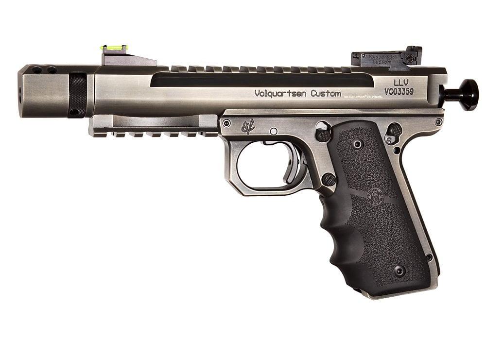 Volquartsen Custom Scorpion 22LR 1911 for sale. The best 22LR pistol for sale in 2019. But it's expensive.