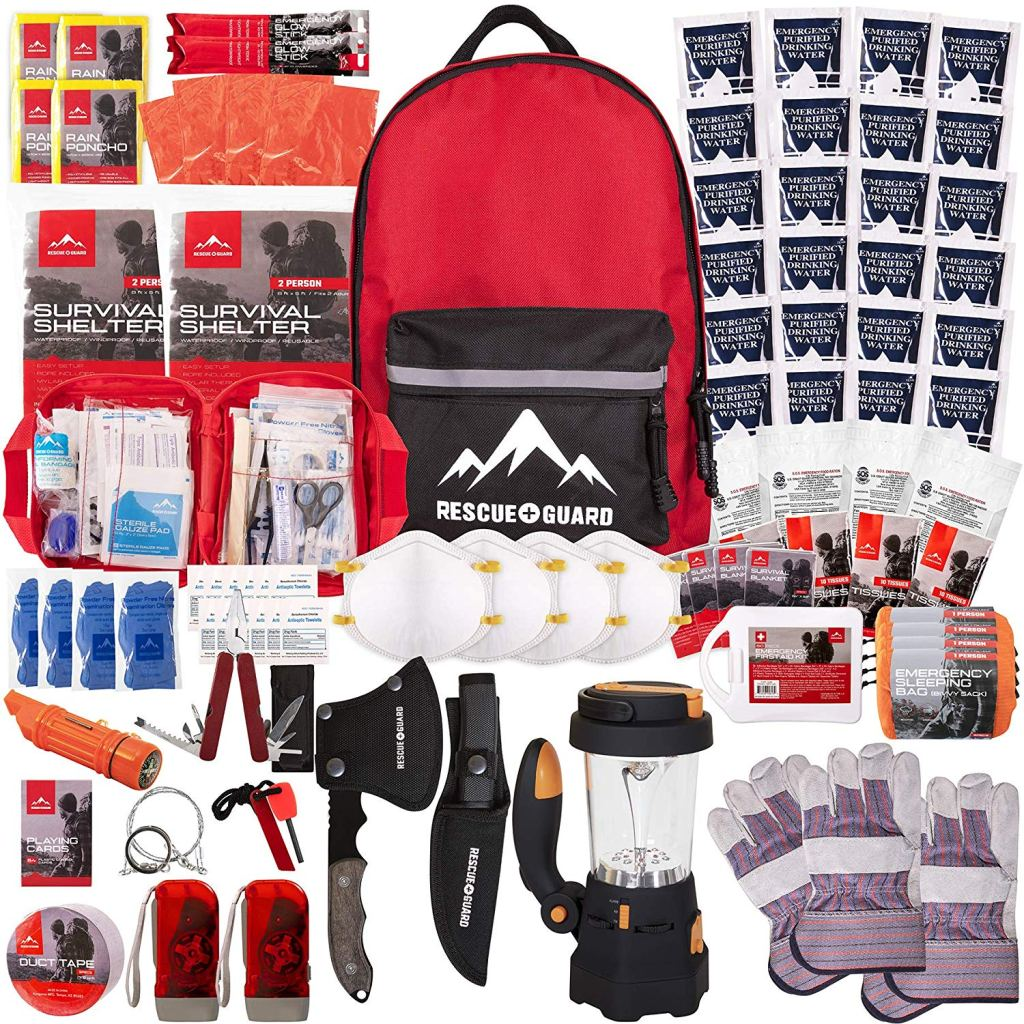 Rescue Guard Emergency Survival Kit could be the difference between life and death and it's a great start to a bug out bag.