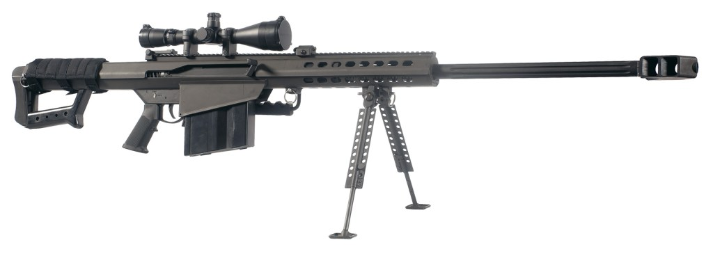 Barrett Firearms 82A1 discount sale today. Get your 50 BMG rifle and ammunition on sale here.