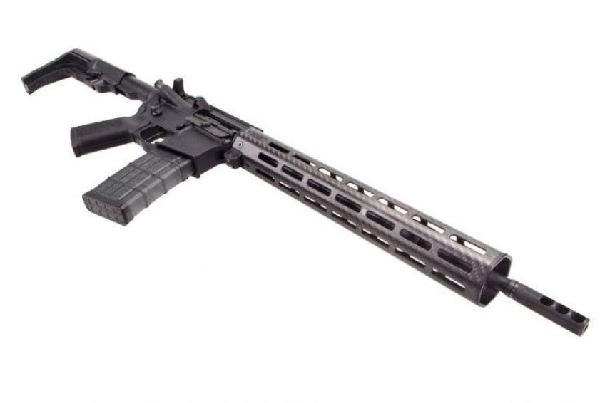 Faxon Firearms lightweight AR-15 with a 14.5 inch barrel and pinned muzzle brake. Buy your guns online now.