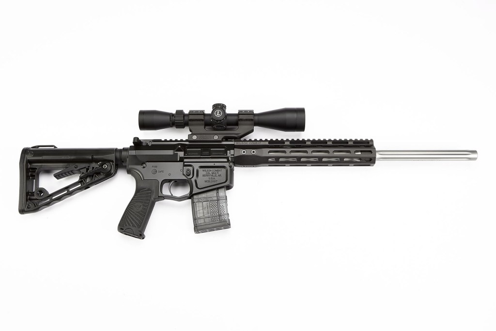Wilson Combat Super Sniper - A designer AR-15 on sale now with top quality engineering and a serious price tag.