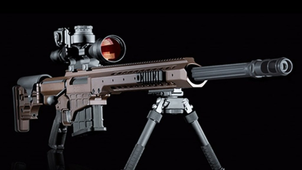 The Barrett MRAD multi-caliber sniper rifle that could replace most of your long distance rifles at a stroke. Buy your Barrett MRAD today