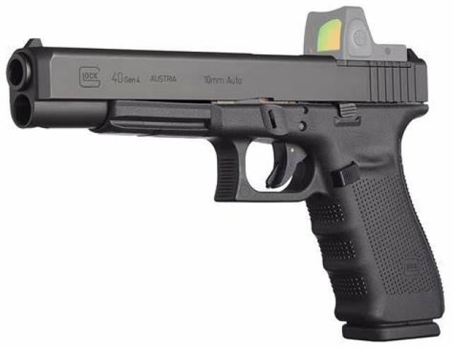 Glock G40 M.O.S Gen 4 10mm Auto for sale. It's a hunting handgun, a bear defense monster and a nightstand pistol from hell.