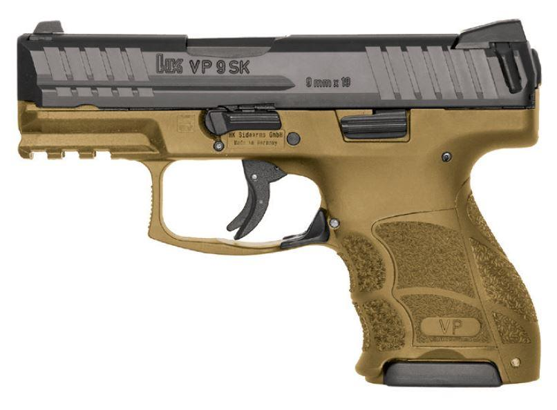 Heckler & Koch VP9SK, one of the best subcompact guns for sale in 2019. Buy yours at the USA Gun Shop