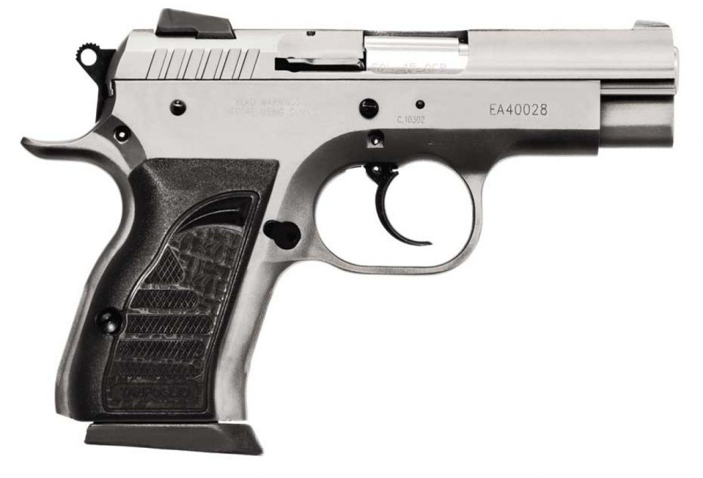 EAA Tanfoglio Witness Compact Steel 10mm carry pistol for sale.  One of the best 10mm concealed carry handguns