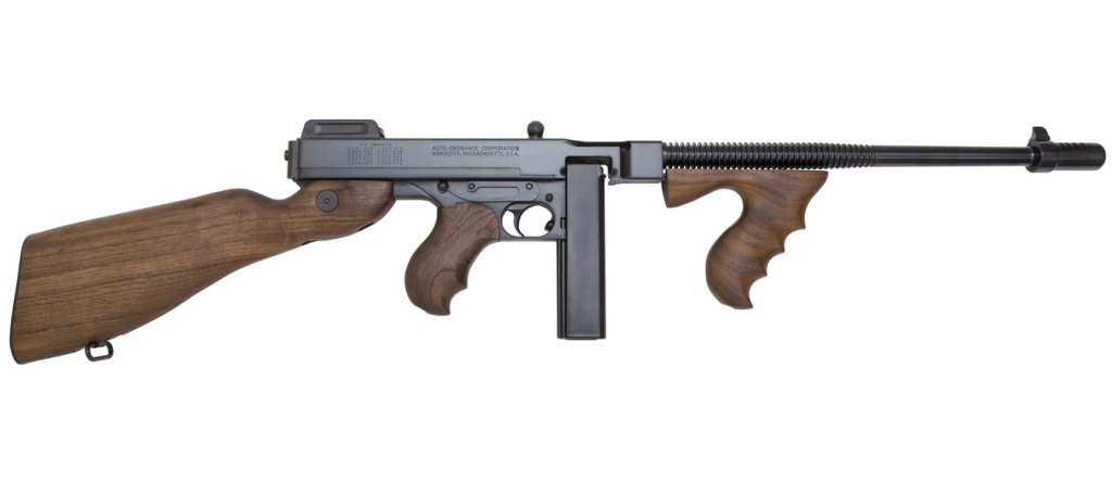 Auto Ordnance Thompson 1927A-1 Lightweight Deluxe Carbine rifle for sale. Perhaps the best modern Tommy gun rifle for sale.