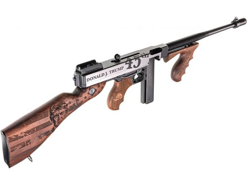 The Donald Trump Edition Kahr Arms Thompson 1927a-1 Rifle - A special edition rifle you have to see with your own eyes. Buy yours here.