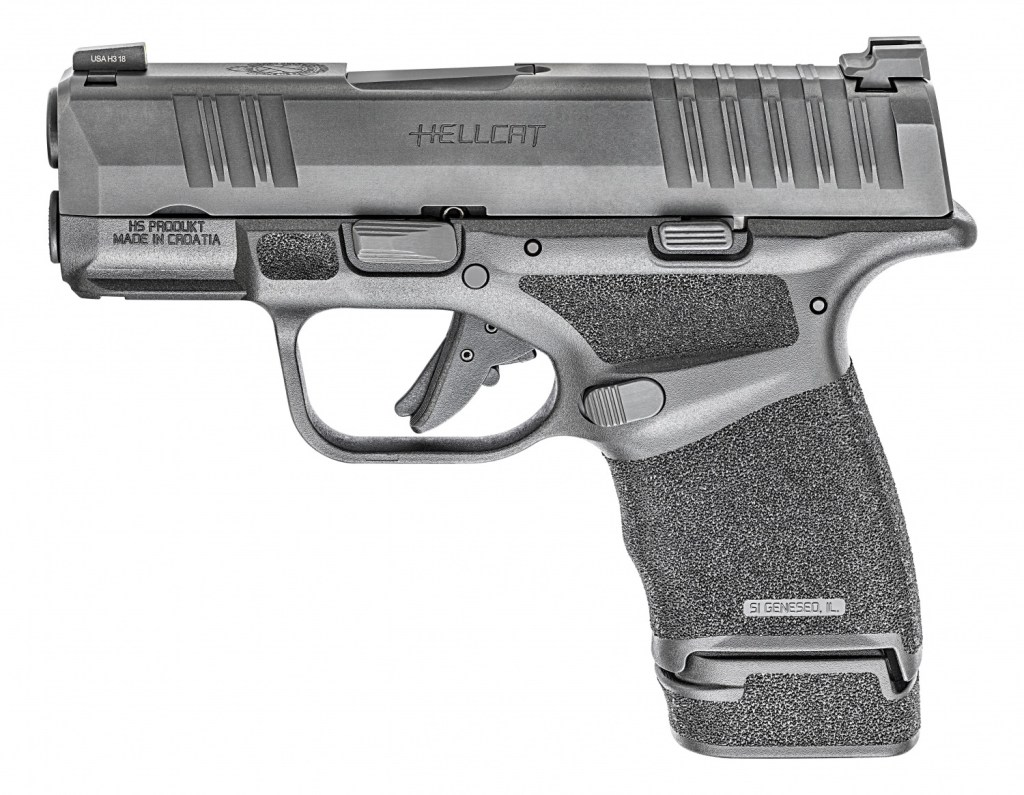 Springfield Armory Hellcat - A new micro-compact 9mm carry pistol with its sights set on the Sig Sauer P365 Nitron. Buy your gun here.