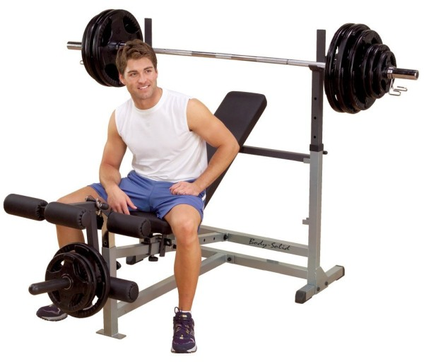 Body Solid Gdib46l Olympic Bench Review