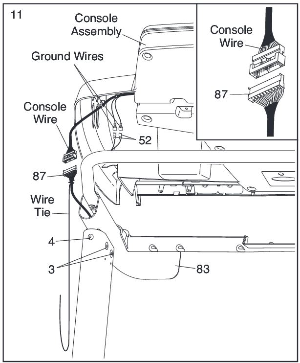 Sole Treadmill Wiring Harness: Treadmill Motor Controller Diagram