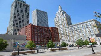Downtown Tulsa mit seinen Wolkenkratzern