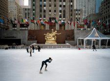 Schlittschuhbahn am Rockefeller Center