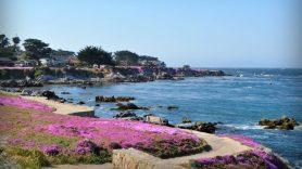 Das wunderschöne romantische Monterrey an der kalifornischen Küste.