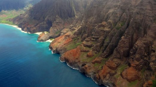 Napali Küste auf der Insel Kauai, Hawaii.