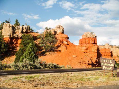 Eingang zum Bryce Canyon