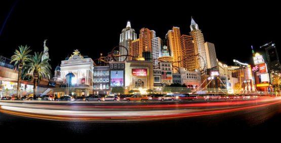 Der Las Vegas Strip in Nevada