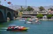 Die London Bridge in Lake Havasu City