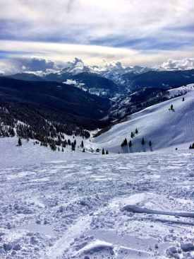 Skiing in Vail, Colorado
