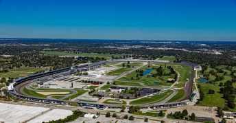 Indianapolis Speedway in Indiana von Oben