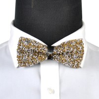 Men Boy Stylish Tie Glitter Crystal Rhinestone Sparkle ...