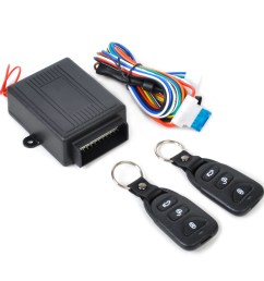 details about universal car remote control door lock locking kit security keyless entry system [ 1110 x 1110 Pixel ]