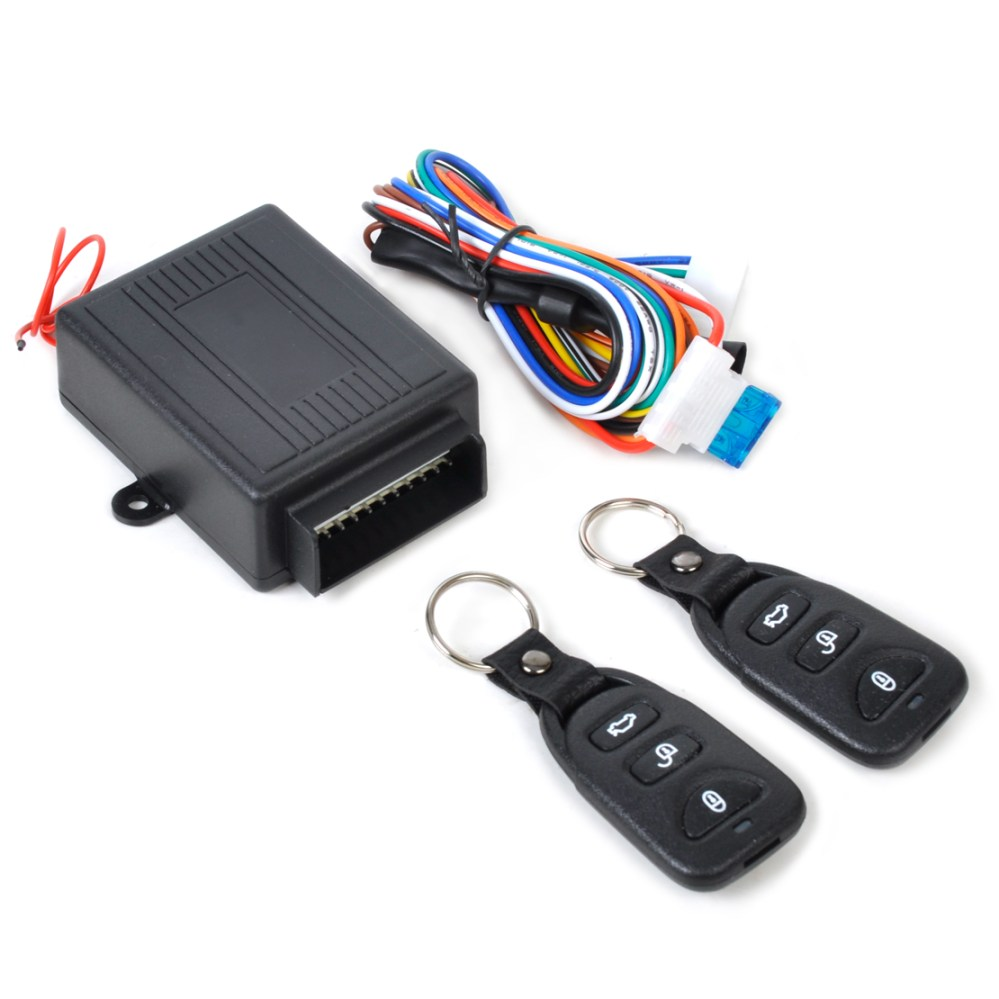 medium resolution of details about universal car remote control door lock locking kit security keyless entry system