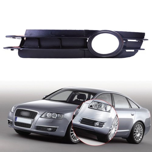 small resolution of details about 4f080768a bumper fog light lamp grill grille front left for 05 08 audi a6 c6
