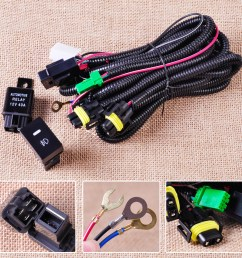 new wiring harness socket switch for h11 fog light lamp ford focus trailer wiring harness h11 wiring harness [ 1110 x 1110 Pixel ]